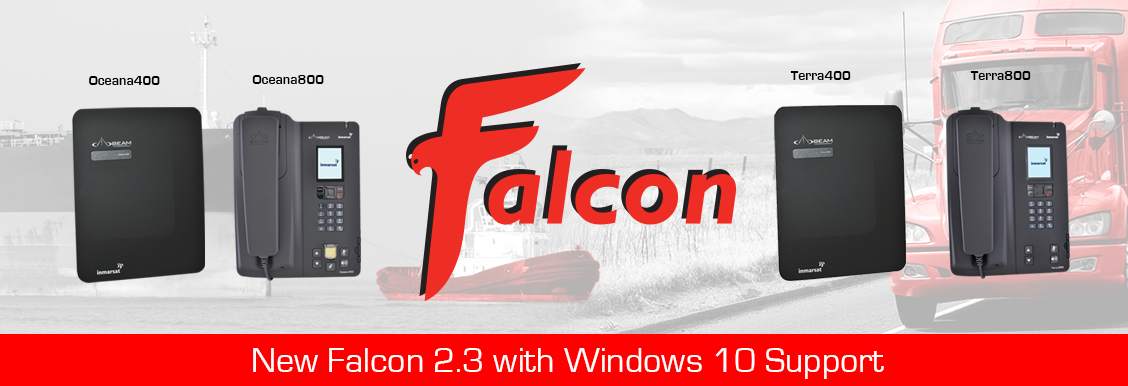 Latest Falcon 2 3 Windows 10 Support for Inmarsat